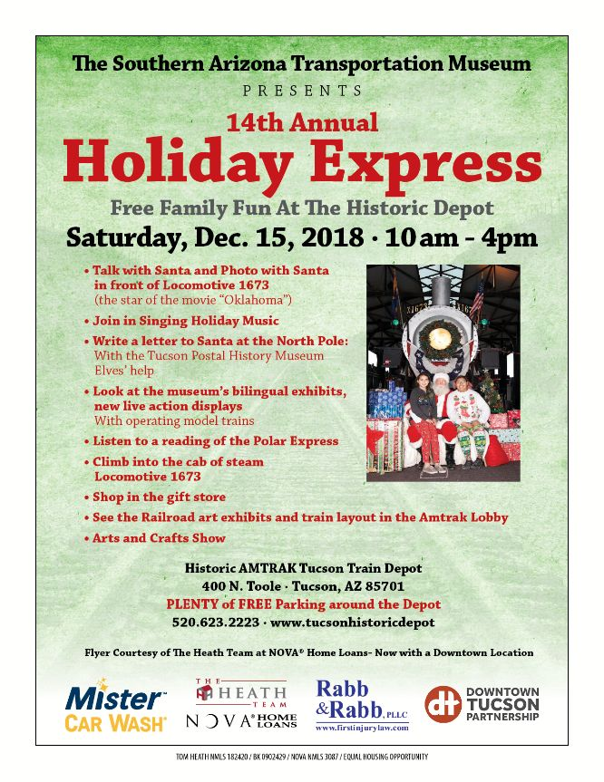 santa Holiday Express Flyer 121518 8_5x11